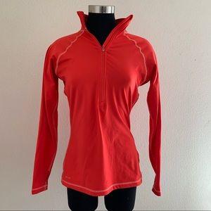 Nike Pro Coral Half Zip Running Pullover